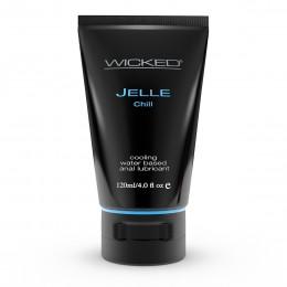 Анальный охлаждающий лубрикант на водной основе Wicked Jelle Chill (120 мл)
