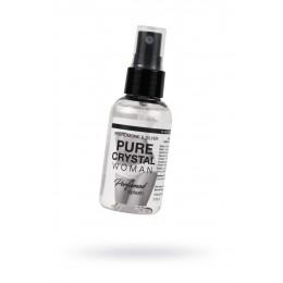 Ароматизированная вода для женщин для тела и белья с феромонами и ионами серебра Natural Instinct PURE CRYSTAL (50 мл)