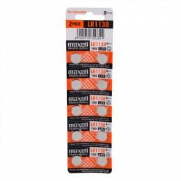 Батарейка Maxell LR44 (AG13), 1,5V (2 шт в упаковке)
