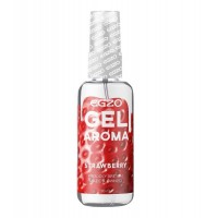 Увлажняющий гель на водной основе EGZO AROMA Strawberry с ароматом клубники (50 мл)