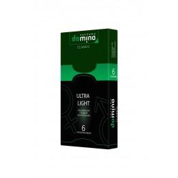 Гладкие ультратонкие презервативы DOMINO Ultra Light (6 шт)