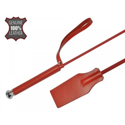 Красный кожаный стек