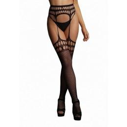 Колготки с имитацией чулок и пояса Garterbelt Stockings With Open Design SL