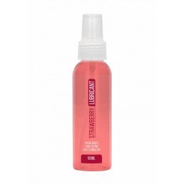 Вкусовой лубрикант Strawberry Lubricant с ароматом клубники (100 мл)