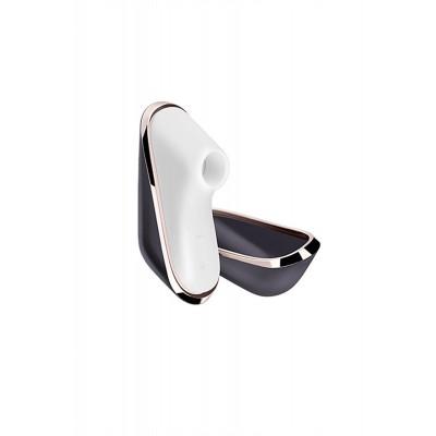 Вакуум-волновой бесконтактный стимулятор клитора в футляре Satisfyer Pro Traveler (11 режимов)