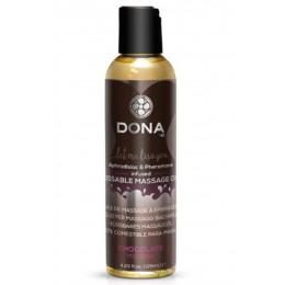 Вкусовое массажное масло DONA Kissable Massage Oil Chocolate Mousse (110 мл)