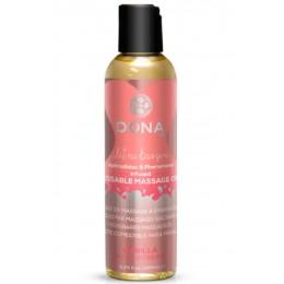 Вкусовое массажное масло DONNA Kissable Massage Oil Vanilla Buttercream (110 мл)