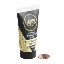 Водоустойчивый возбуждающий лубрикант UNEX на силиконовой основе (50 мл)