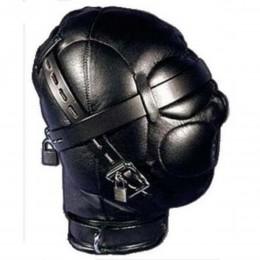 Депривационный шлем из натуральной кожи