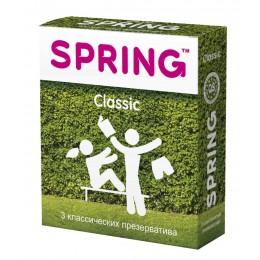 Классические презервативы SPRING Classic (3 шт)