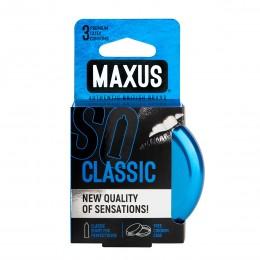 Классические презервативы в железном кейсе MAXUS Classic (3 шт)