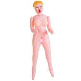 Надувная куколка с реалистичной вагиной Dolls X (3 отверстия)