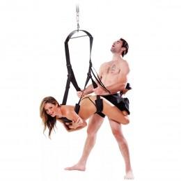 Секс-качели с двойной поддержкой и фиксацией ног Spinning Fantasy Swing